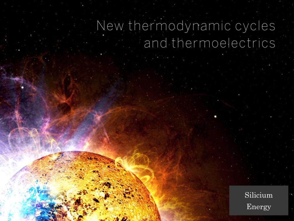 Disruptive Portfolio - Silicium Energy