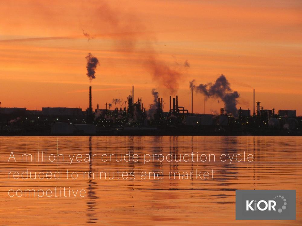 Disruptive Portfolio - Kior