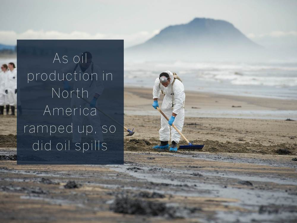 As oil production in North America ramped up, so did oil spills