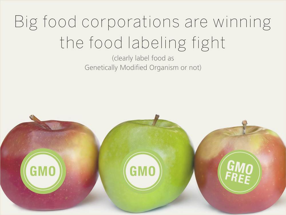 Big food corporations are winning the food labeling fight