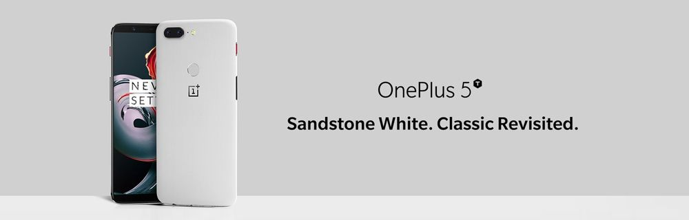 UPDATE 4 Jan 2018  Find the new OnePlus 5T Sandstone White wallpaper below