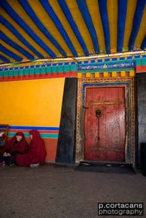 Two Tibetan Nuns (The Jokhang)
