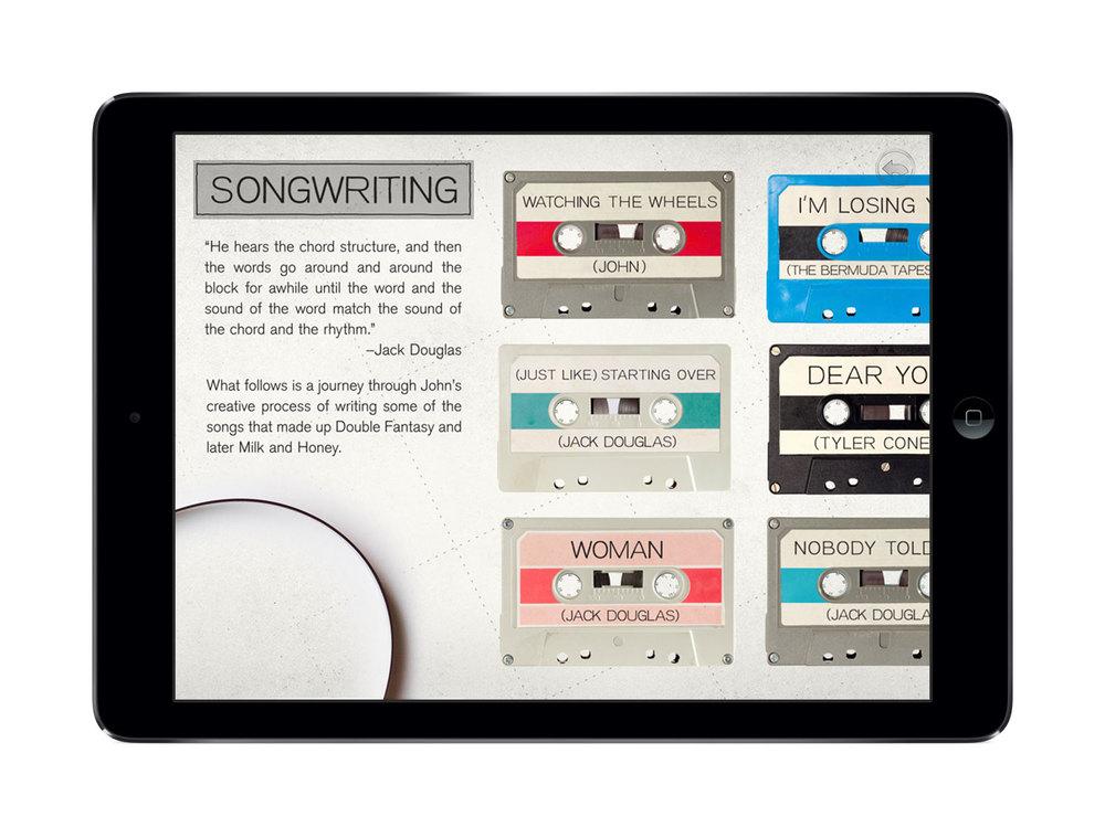 John Lennon The Bermuda Tapes app