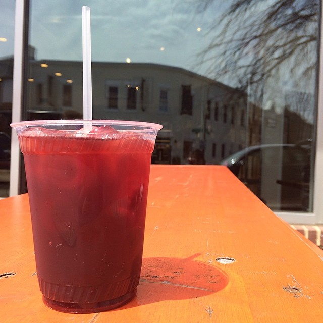 Hibiscus Iced Coffee