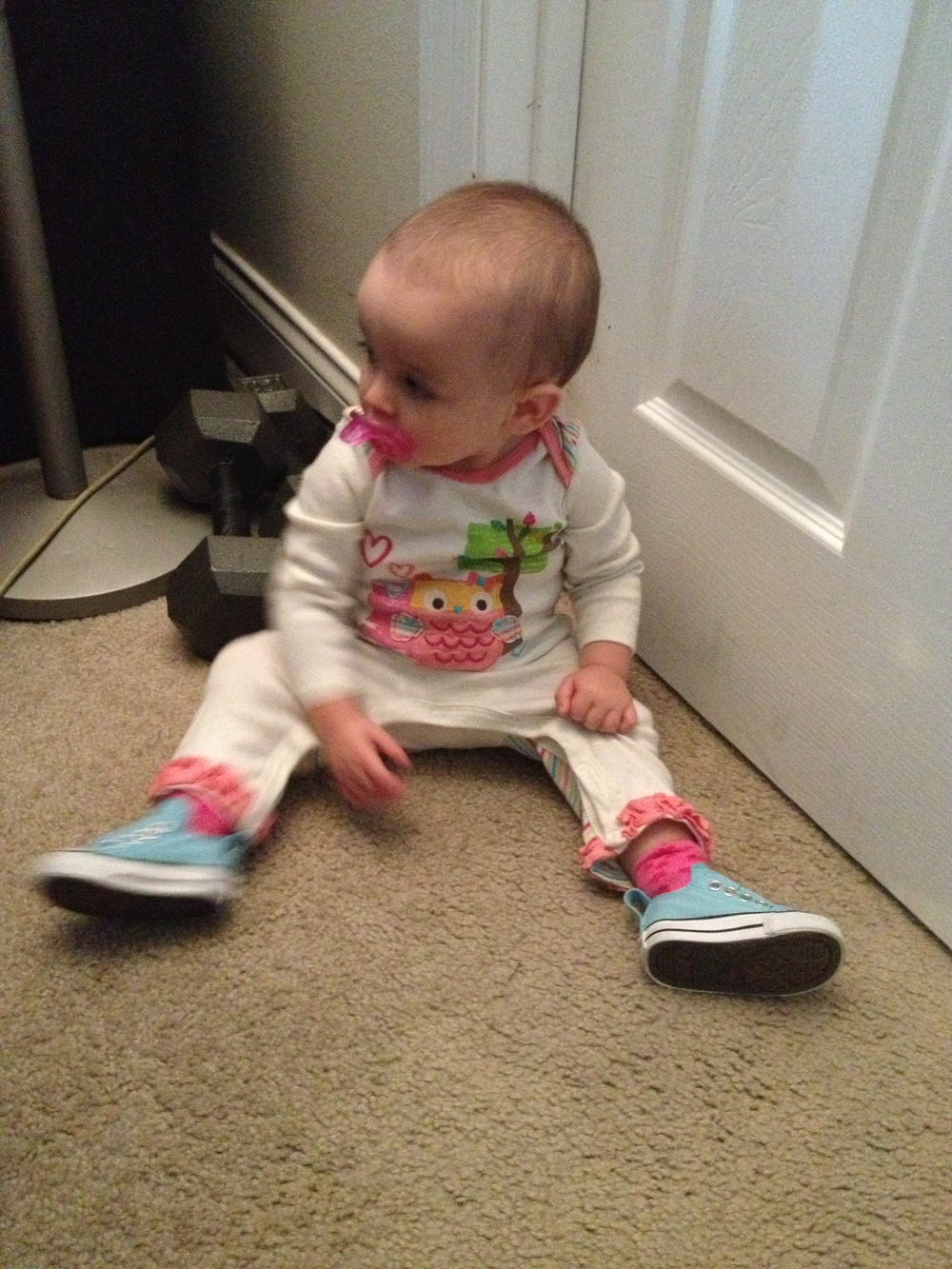 Daphne's first Converse All Stars