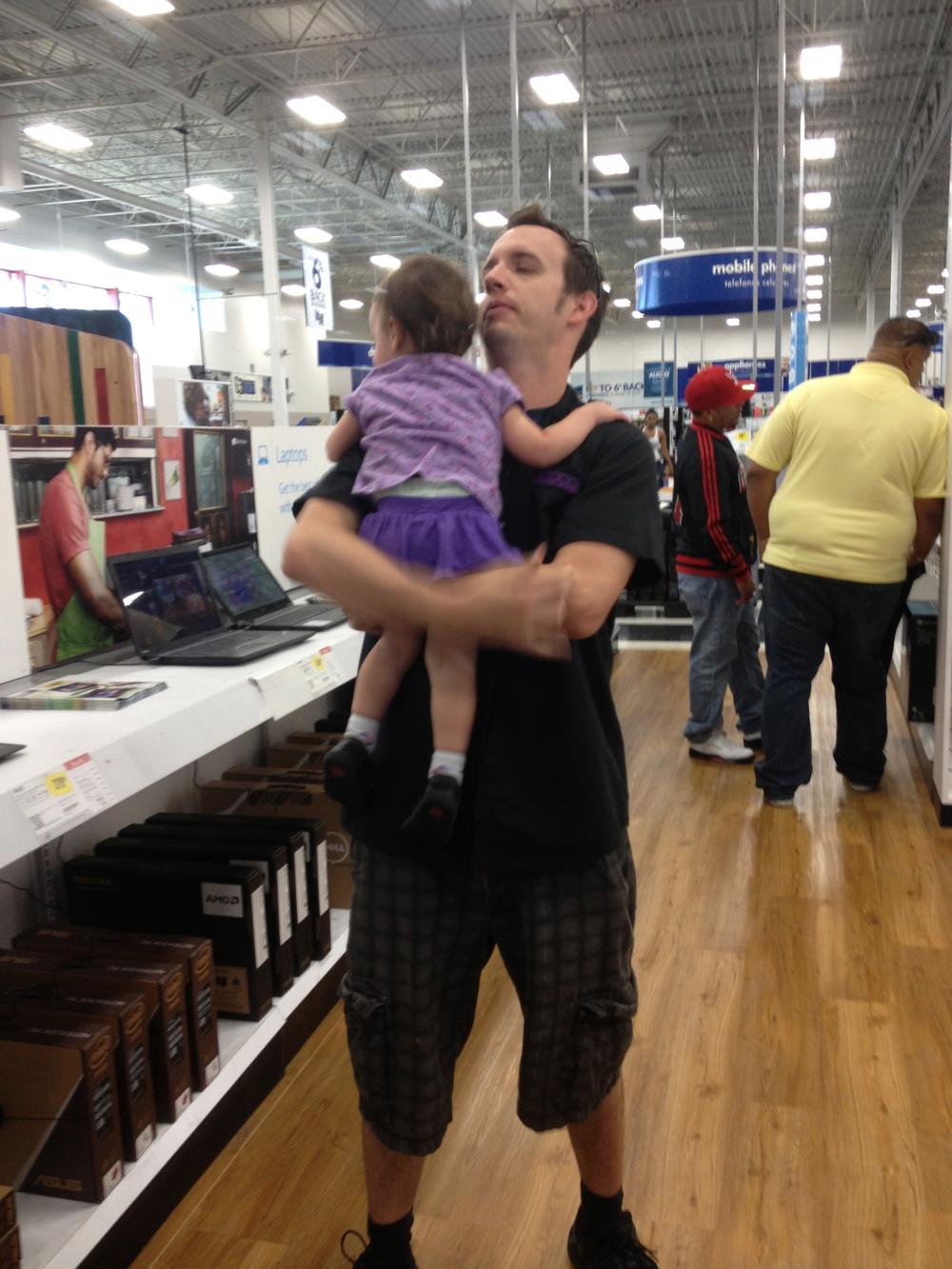Spontaneous Daddy Hugs