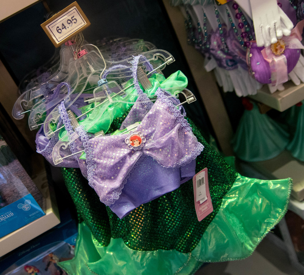 $65 for a sequined bra top and skirt for your toddler!