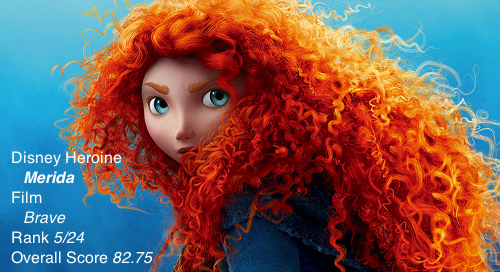 If you can look away from Merida's hypnotic hair, there are spoilers below!