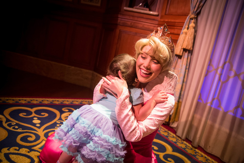 Any Princess that's this happy to get a hug from my kid is OK in my book