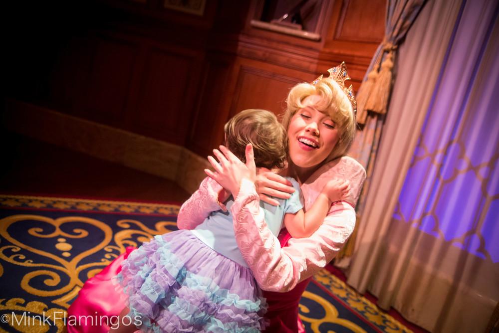 Aurora's Joyful Hugs