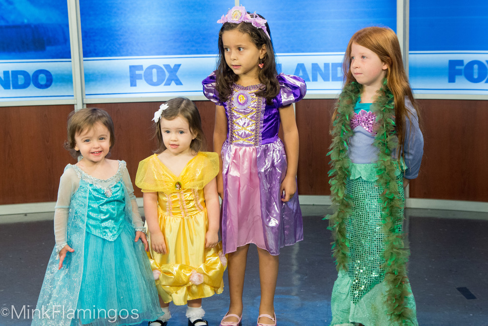 Daphne, Cordelia, Olivia, Daphne