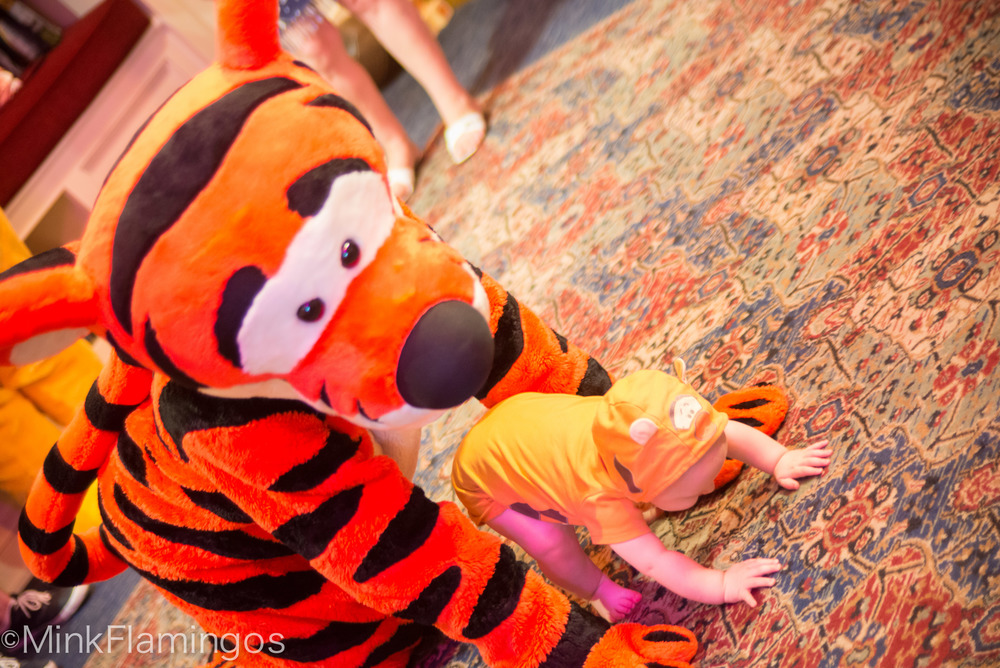 "Not ""the only one"" after all. Eh, Tigger?"