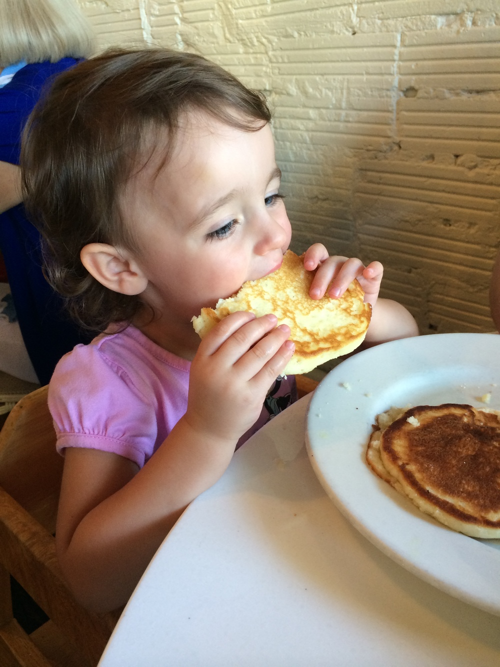 Pancakes at Briar Patch