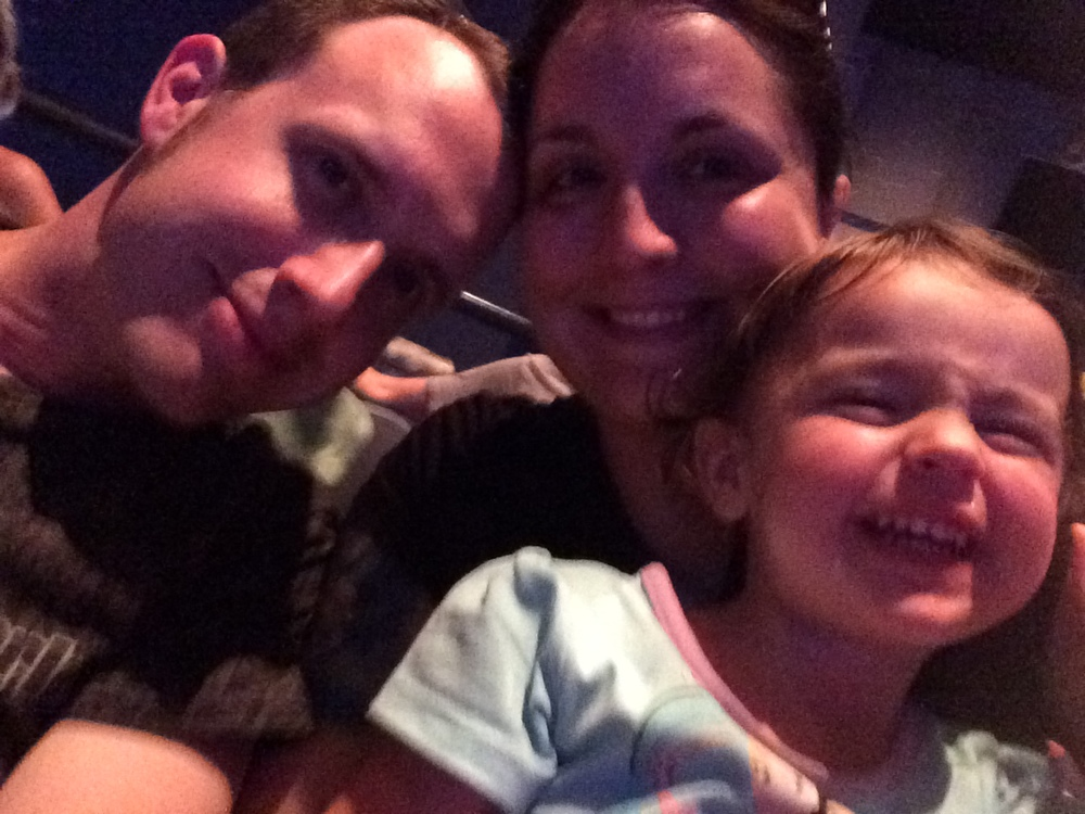 Waiting for the Frozen Sing-along show