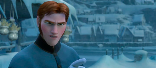 You're right, Hans. I don't like you when you're angry.