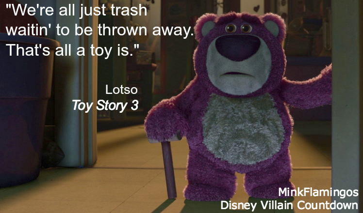 Lotso, King Emo of Disney Villains