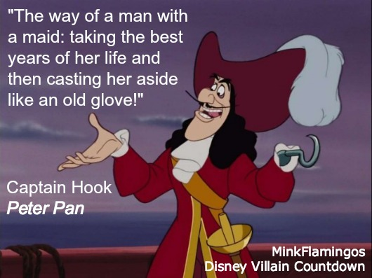 See? Hook's a feminist!