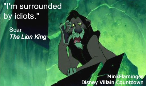 We've all been there, Scar.