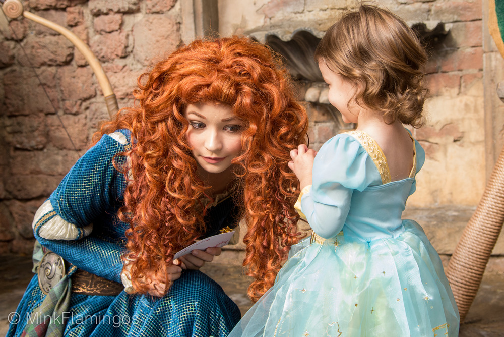 Merida getting an earful