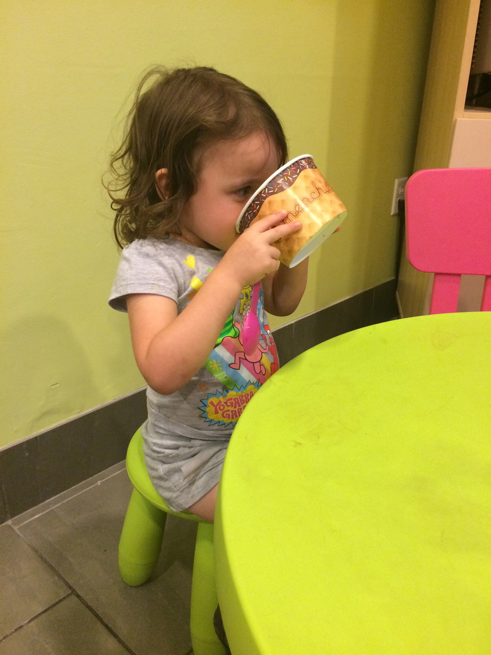 Are you saying there's a better way to eat FroYo?
