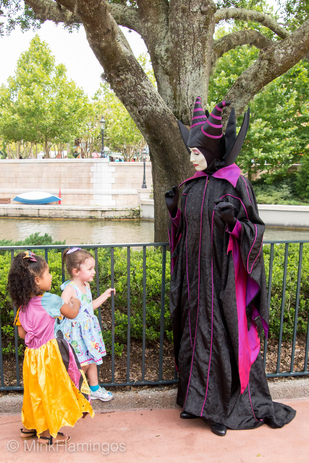 Daphne, Soleil, and Maleficent discuss plans for World Domination
