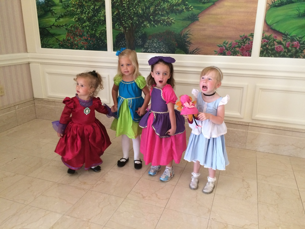 Lady Tremaine, Drizella, Anastasia, & Cinderella