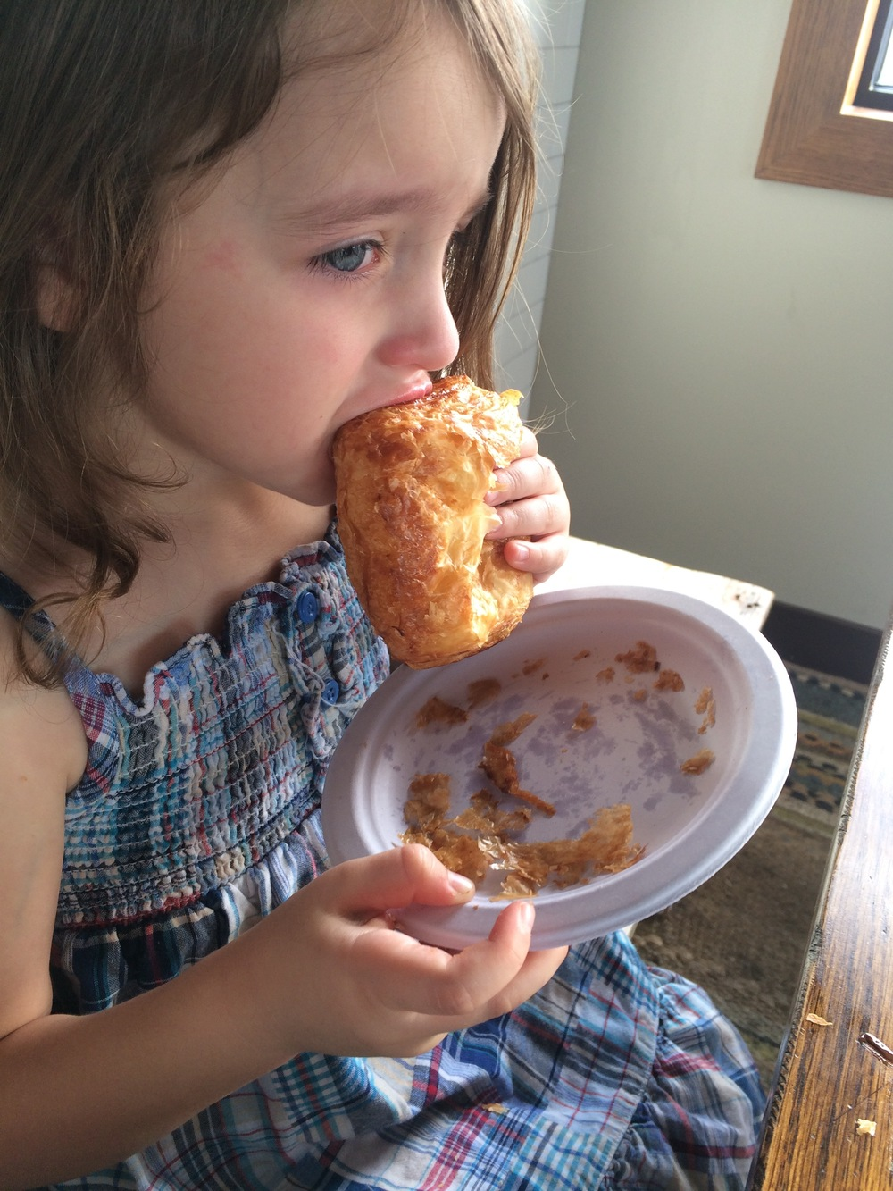 Begrudgingly Sorrowful Eating could be an Olympic Sport for my child