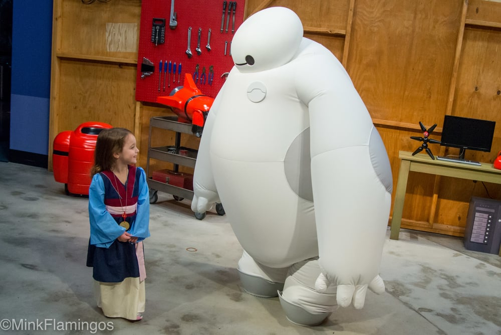 The Adorable Shrinking Baymax