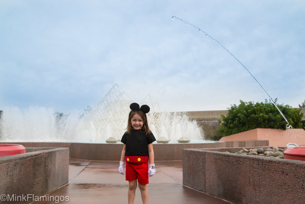Still can't believe she held still so I could get this shot. It took at least 2 fountain passes!