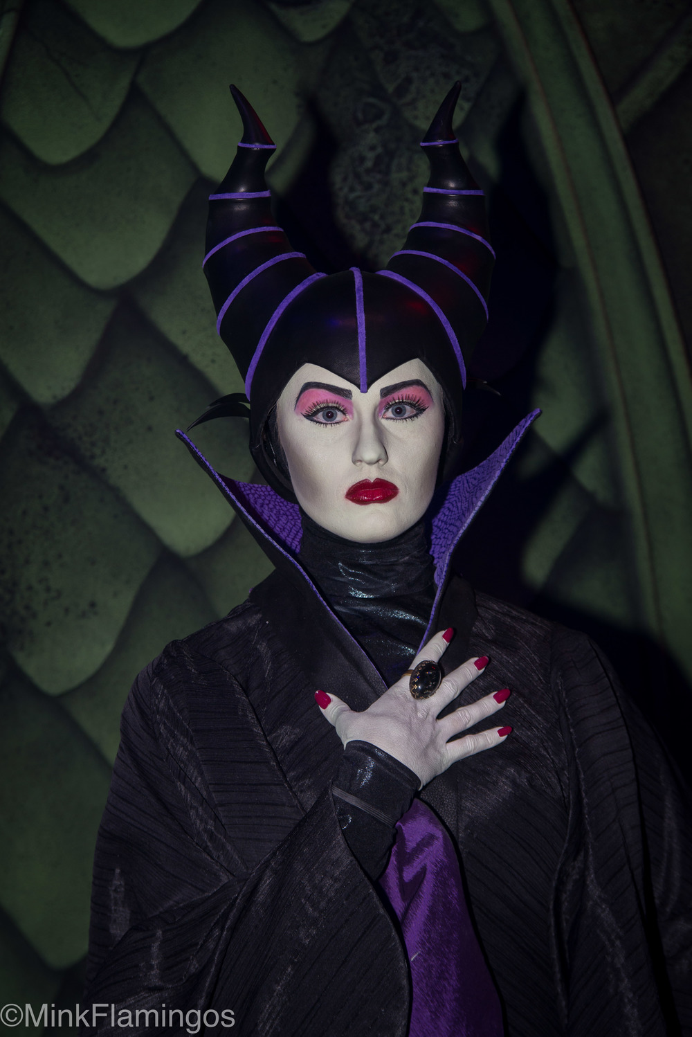 Club villain at hollywood studios minkflamingos disney has completely redone her costume for club villain including the headwear it is without a doubt the best maleficent has ever looked at the parks m4hsunfo