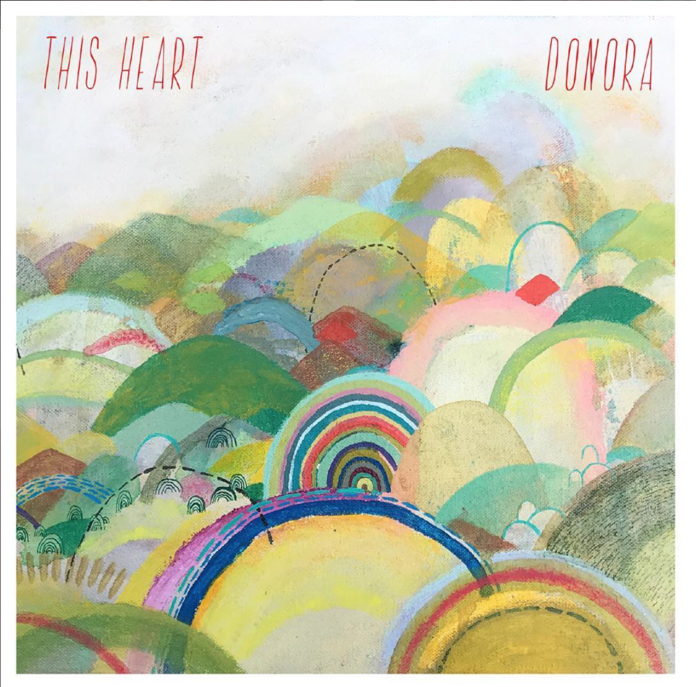 Donora Album Art  - Pittsburgh pop rock band Donora chose my art for the cover of their latest album, Sun To Me, and for their single release, This Heart.
