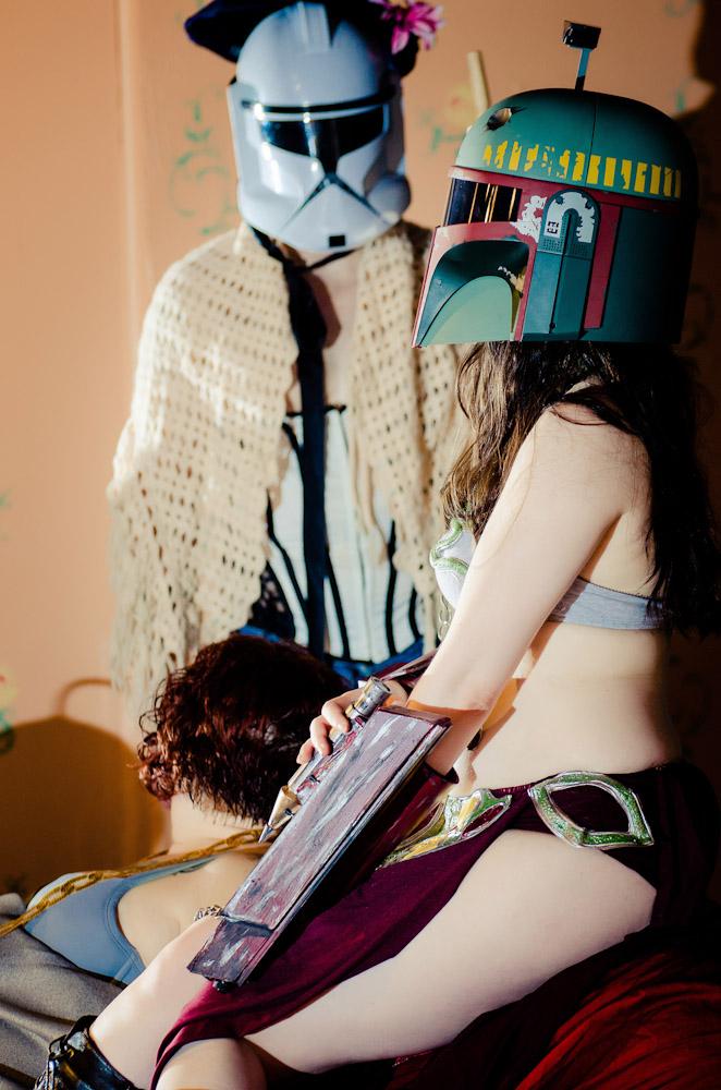 Dr. Sketchy's Charleston: Star Wars