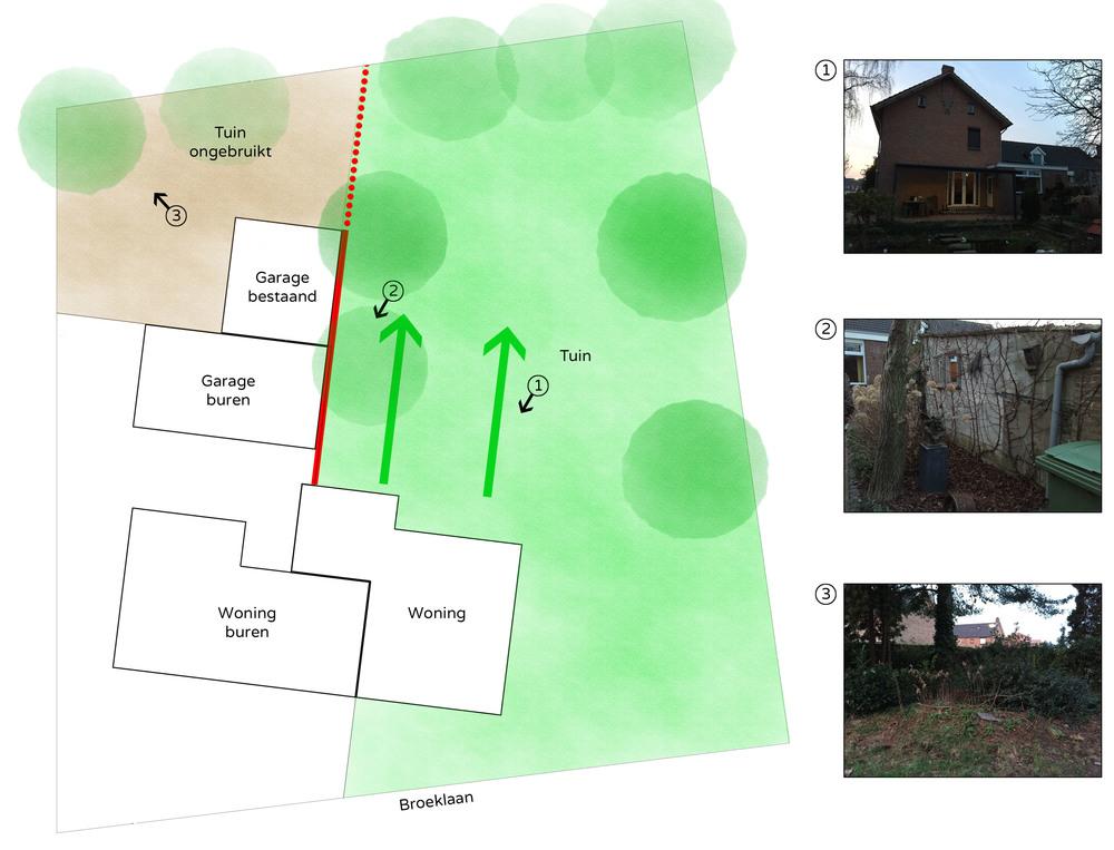 Afbeelding 1, interpretatie bestaande situatie (klik op afbeelding voor vergroting)
