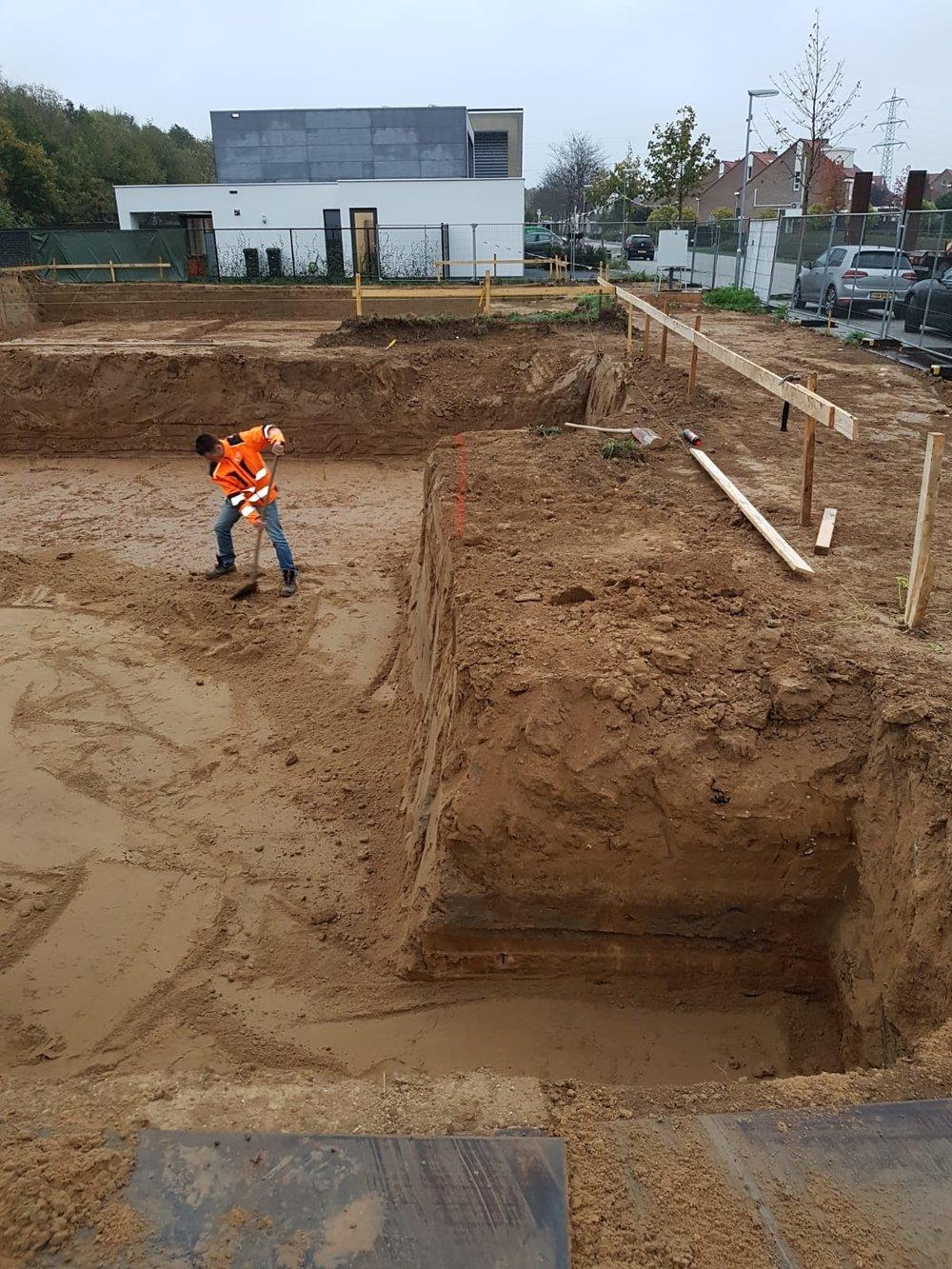 Ontgraven voor grondverbetering