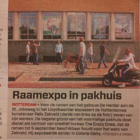 Algemeen Dagblad Rotterdam 2013 Goed en Groen