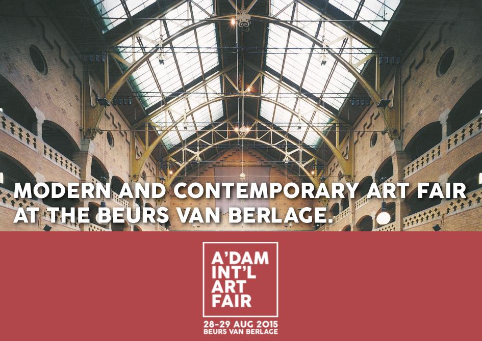 Felix Zekveld Amsterdam International Artfair Beurs van Berlage