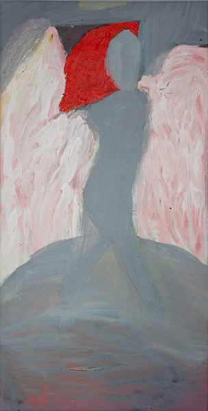 Engel met rood haar