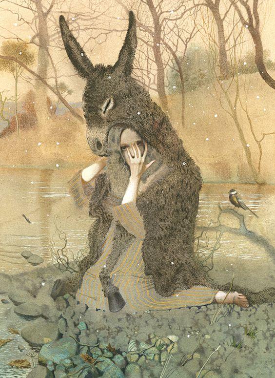 """""""Donkey Skin"""" by  Nadezhda Illarionova"""
