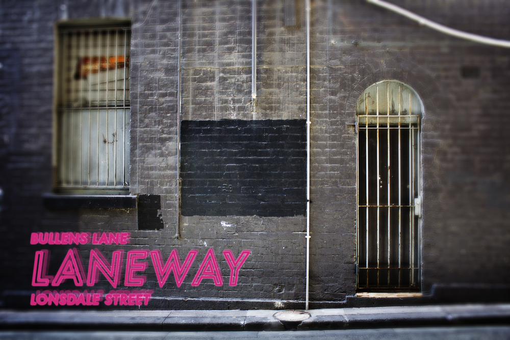Bullens Lane / Lonsdale Street, Melbourne.