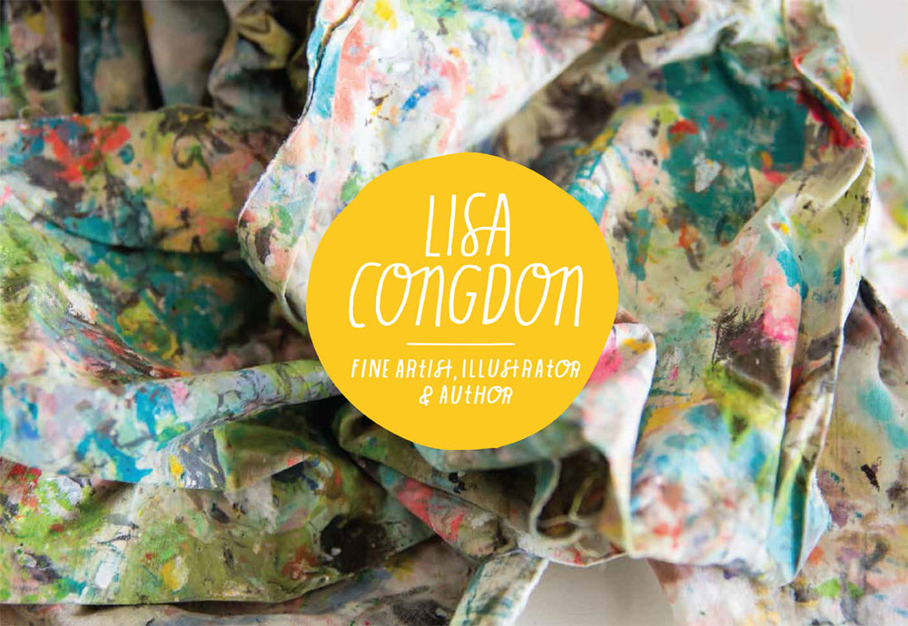Visit Lisa's website:  lisacongdon.com
