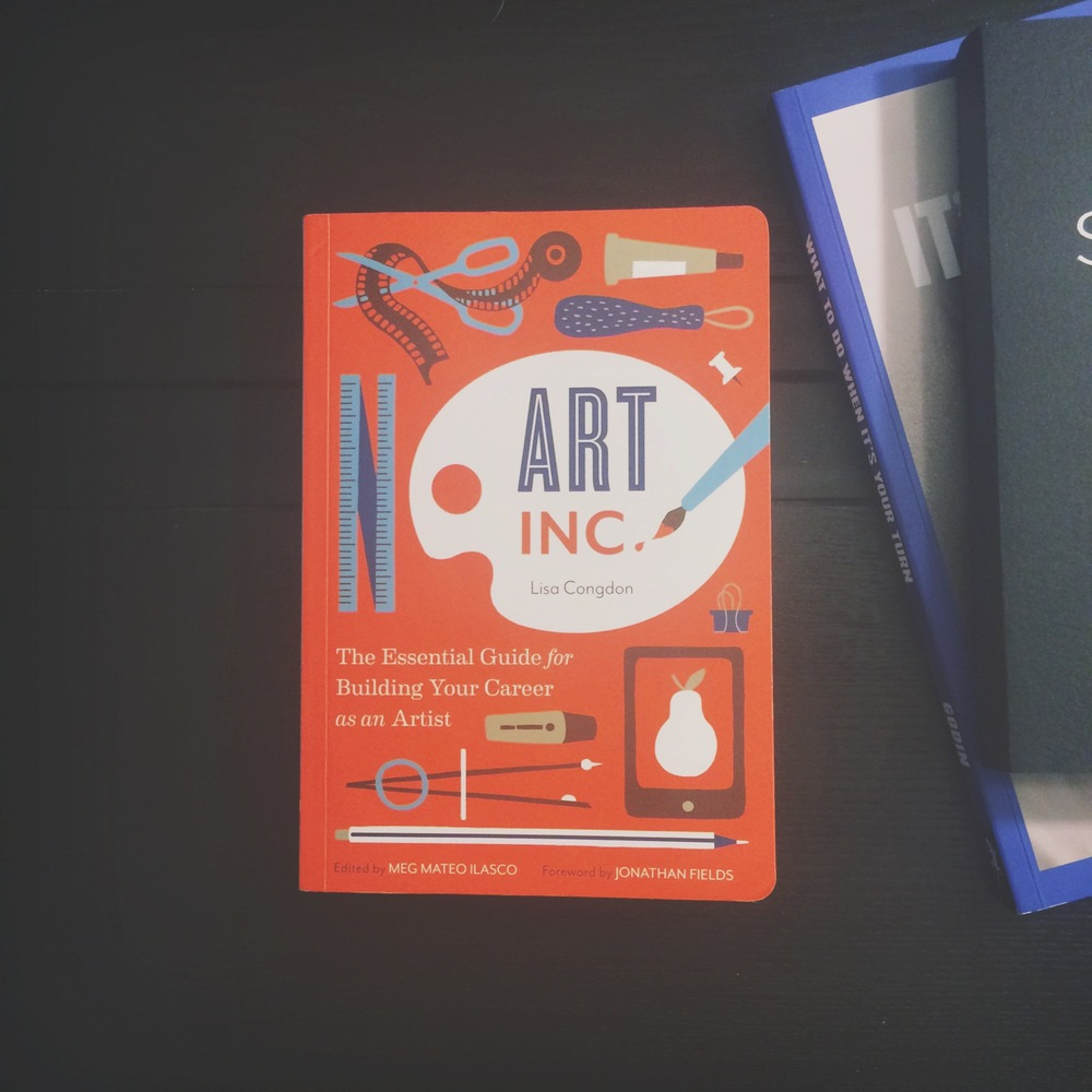 Lisa Congdon's new book has officially been added to my  Arts & Creatvity Bookshelf .