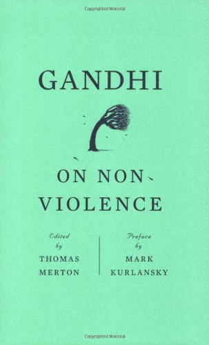 Gandhi on Nonviolence   (Edited by Thomas Merton) is full of quotes from Gandhi's writings and speeches as well as commentary by the Trappist monk Thomas Merton.