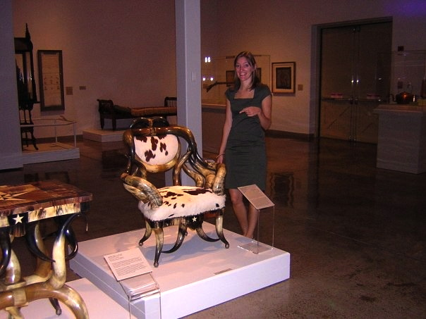 "I co-curated the ""Volkskunst"" exhibit at the San Antonio Musem of Art in October 2008"