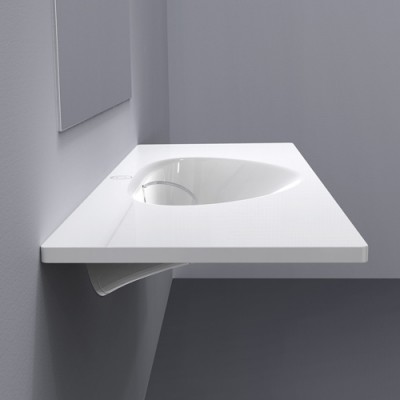 Bathroom Innovation: Squeaky clean sink sans spout : bathroom-innovation - designwebi.com