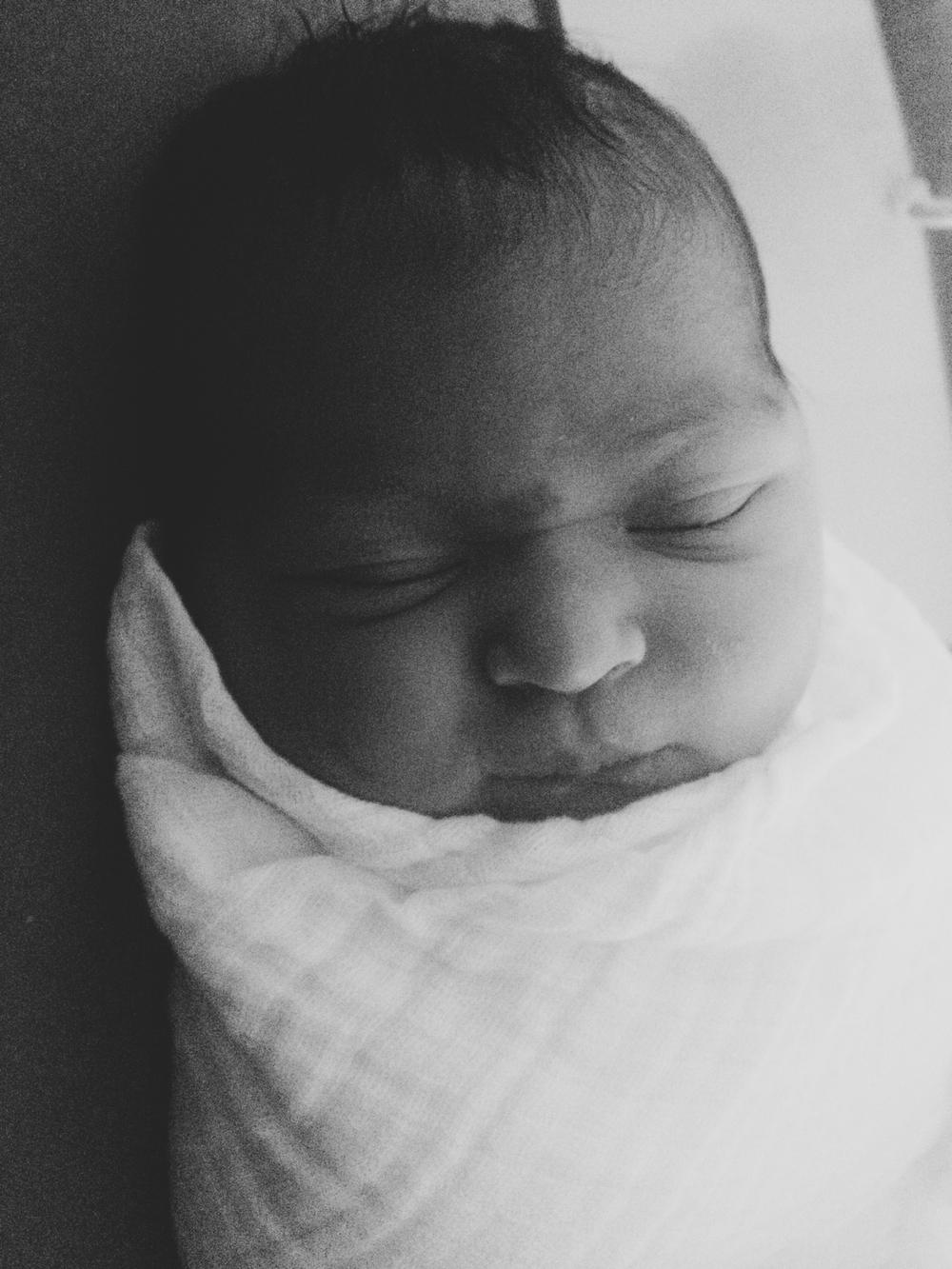 Vivian Amalie, born 05/23/2014. 8 lbs 9 oz.