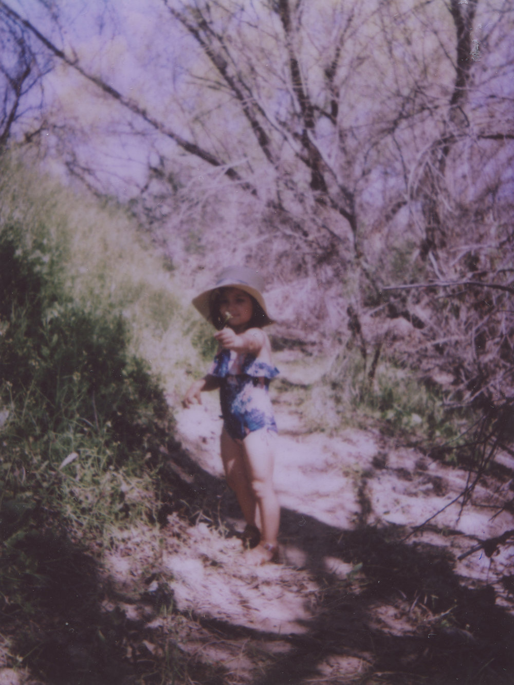 Vivian In The Arizona Spring