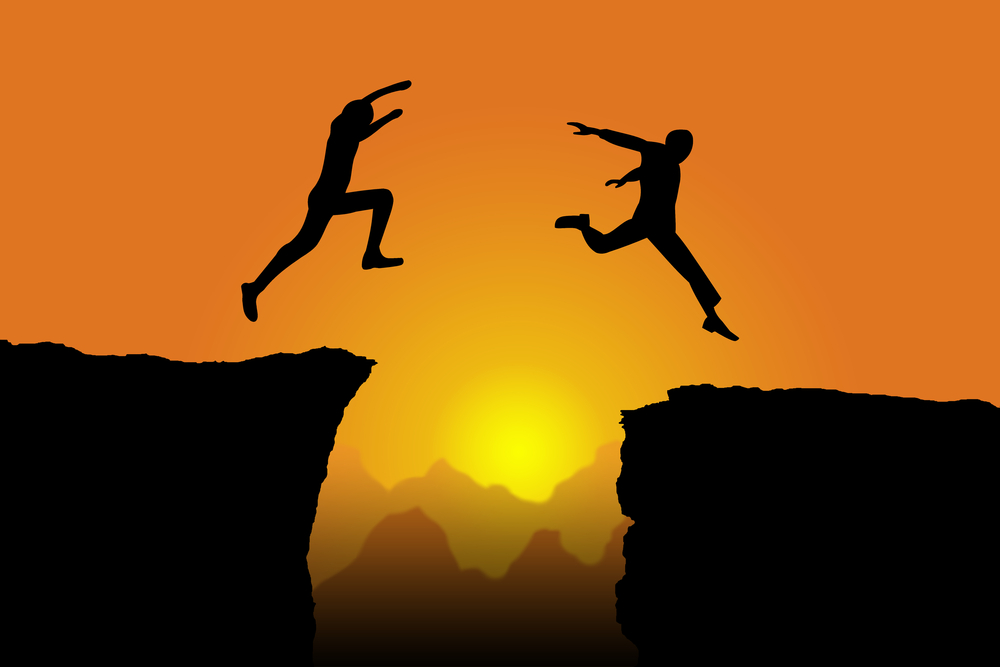 Take a leap, decide to overcome our fears in the year to come...