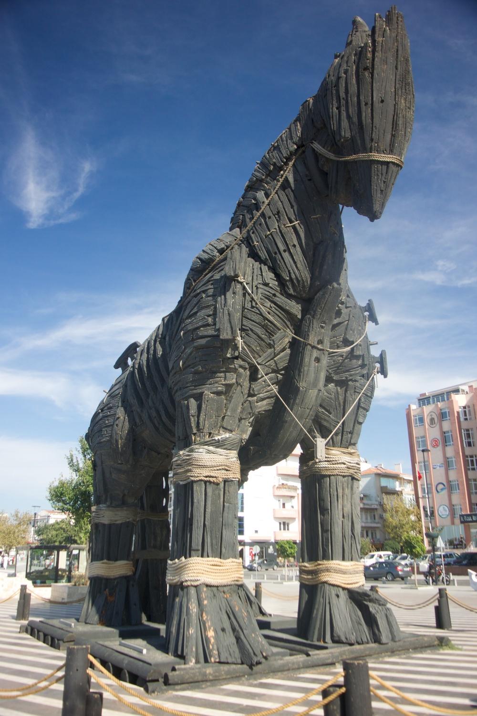 the trojan horse...