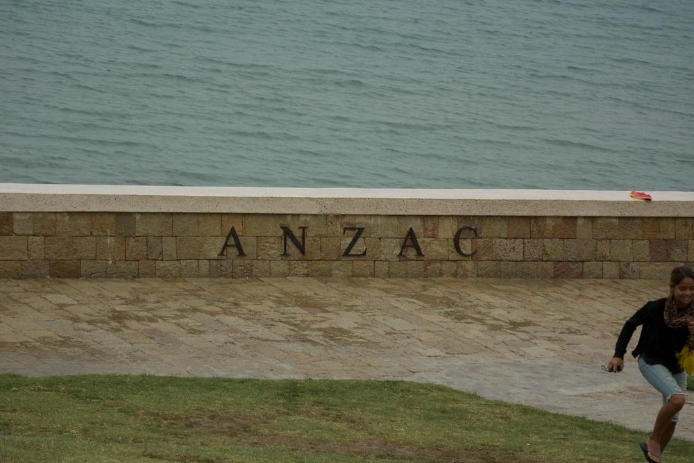 ANZAC cemetery, Gallapoli