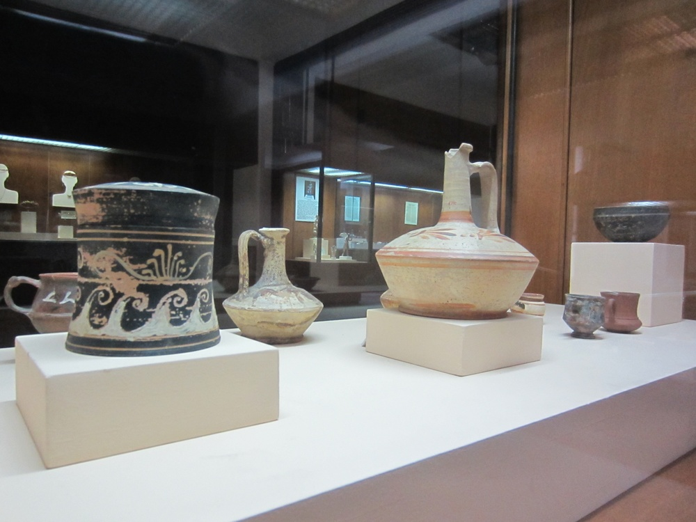 Artefacts from the Canakkale Archaelogical Museum